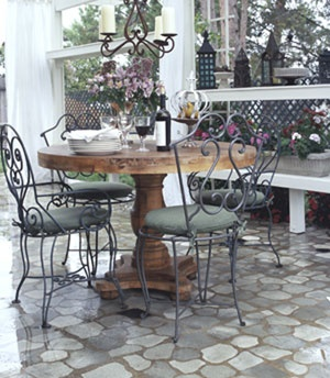 Step By Step Instructions To Faux Paint Your Concrete Patio To Look Like  Stone