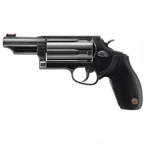 """Taurus Judge 4510 Revolver .45 LC and .410 Bore 3"""" Barrel 5 Rounds Black Ribber Grip Blued Finish 2-441031T - 725327602118"""