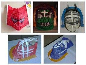 Máscaras estilizadas evitam anestesia durante sessões de radioterapia (Foto: Huse/Divulgação)
