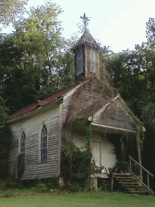 My photo of an old church in Peak,SC