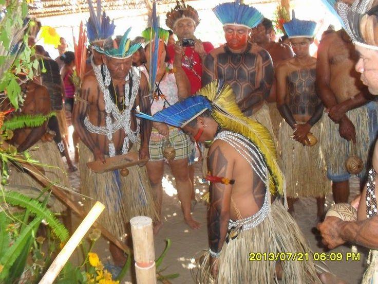 Ritual do Toré dos Índios Potiguara da Paraíba. Foto: Genildo Avelar Cardoso