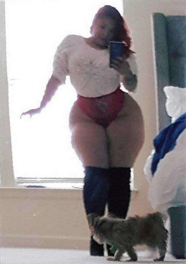 Big ass dance sexy bbw