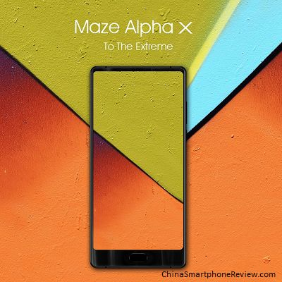 Maze Alpha X - 18:9 LG screen and Helio P25 - China Smartphone Review