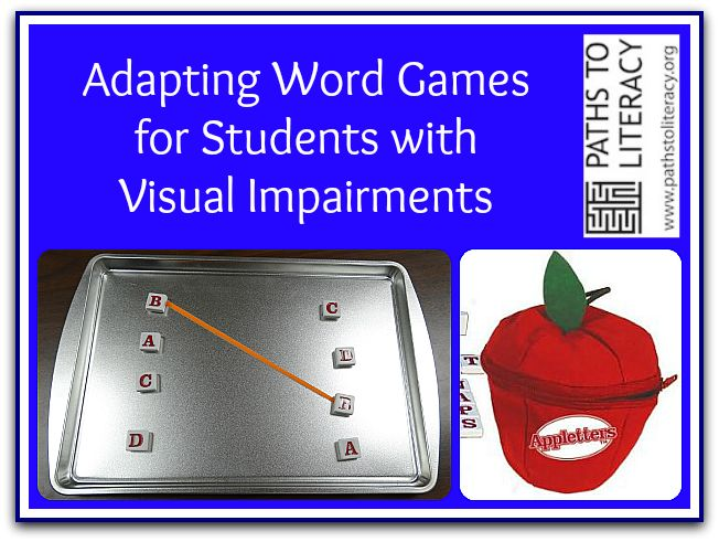 Image result for word games for visually impaired