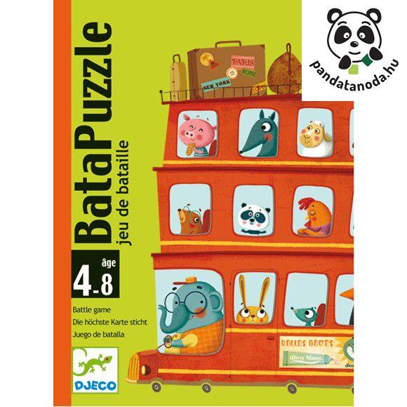 Bata puzzle- kártyajáték (Djeco)   Pandatanoda.hu Játék webáruház