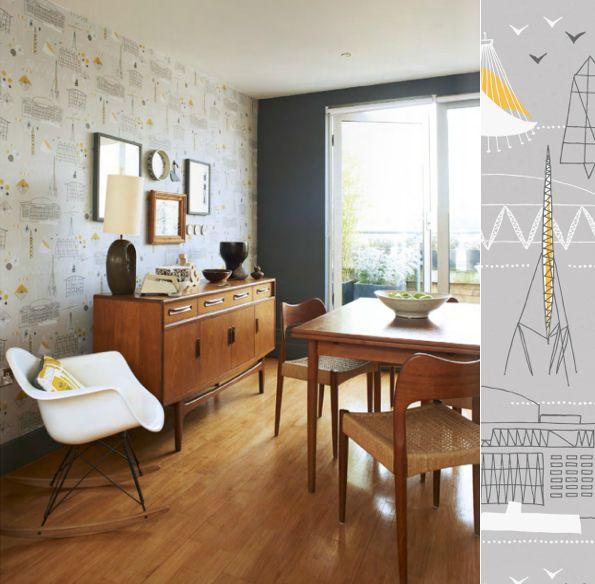 Mini Moderns: Photography by Andrew Boyd via Heart Homemagazine: Dining Rooms, Interiors, Minis Modern, Mid Century, Modern Houses, Design Home, Midcentury, Danishes Modern, Vintage Home Decor