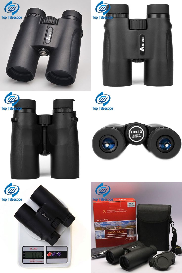 [Visit to Buy] Binoculars Asika 10x42 high quality Telescope military night vision binoculo high power  telescopio for hunting optics black  #Advertisement