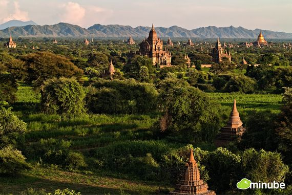 20) Bagan, Myanmar: Could the world's best sunrise be in the ancient city of Bagan? Many would say so. Just imagine: the mist evaporating in the day's first light, revealing a near-endless plain of ancient pagodas. (Photo by Gorka Nelson)