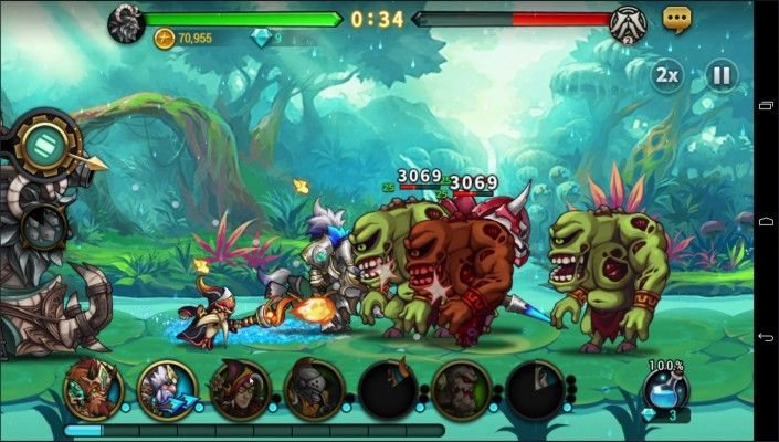 Seven Guardians is a Free-to-play Android, Action-packed Strategy Role-Playing Multiplayer Game with stylish side-scrolling battles