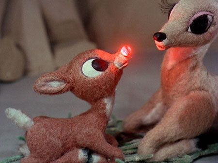 Rudolph the Red Nose Reindeer :)