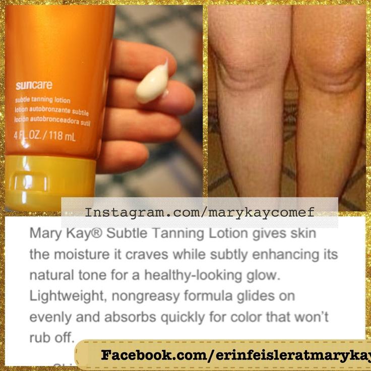 ¿Quieres lucir bronceado sin las consecuencias de los rayos solares? Autobronceador Mary Kay.