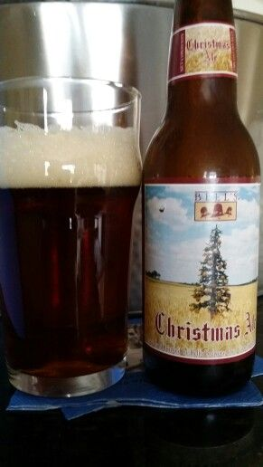 Bell's Brewery's Christmas Ale. An excellent well-balanced beer. A great choice holiday choice.