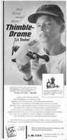 Cox Thimble Drome Model Plane 1959 Ad Picture