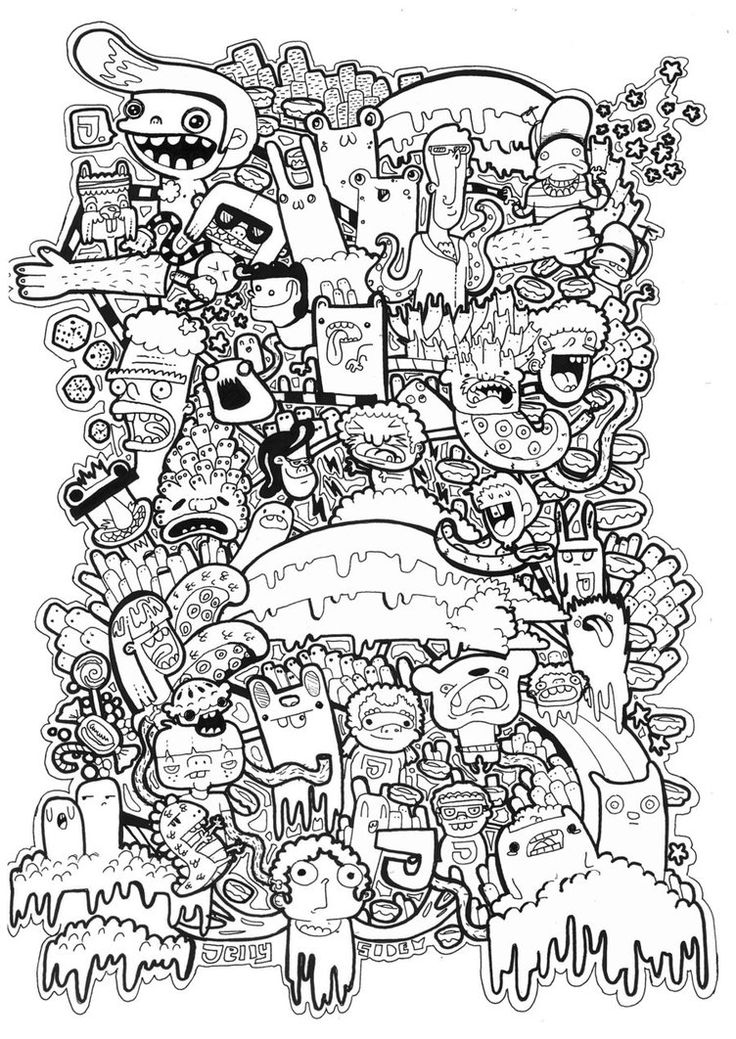 Doodles T Shirt Graphic Vol2 By Jellyside
