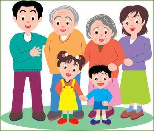 Родители, дедушки, бабушки и дети