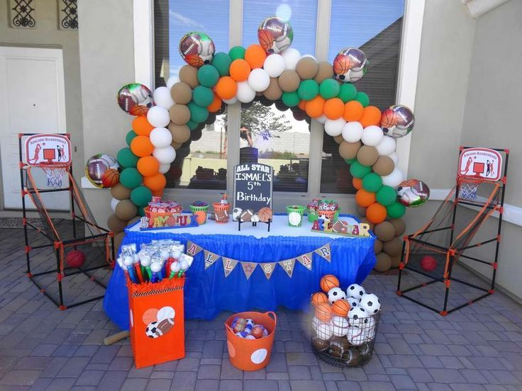 Image result for allstar themed centerpieces Sports