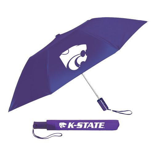 Storm Duds Adults' Kansas State University 42 Automatic Folding Umbrella