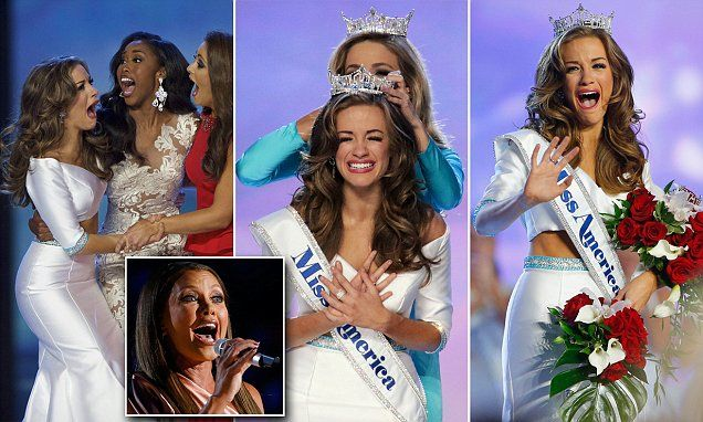 Miss Georgia Betty Cantrell is crowned the new Miss America