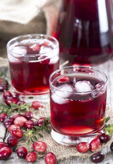 Suco de cranberry - previne infecção urinária