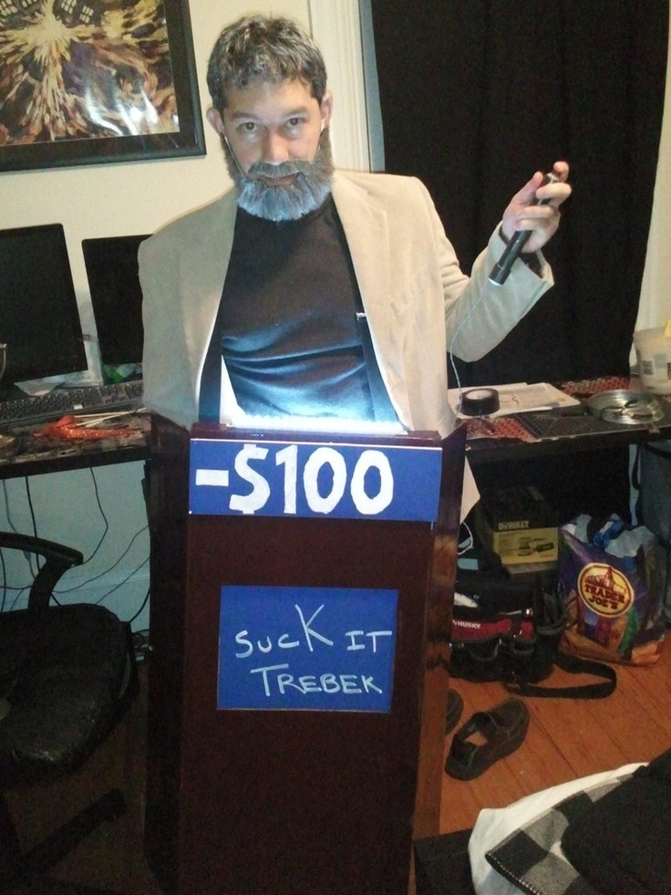 snl jeopardy costume - Clever Original Halloween Costumes