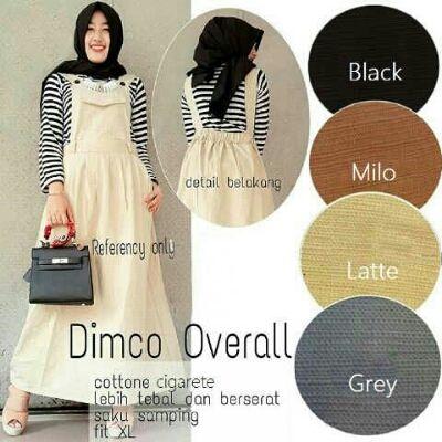 Baju Muslim Remaja Dimco Overall Cantik - http://bajumuslimbaru.com/baju-muslim-remaja-dimco-overall