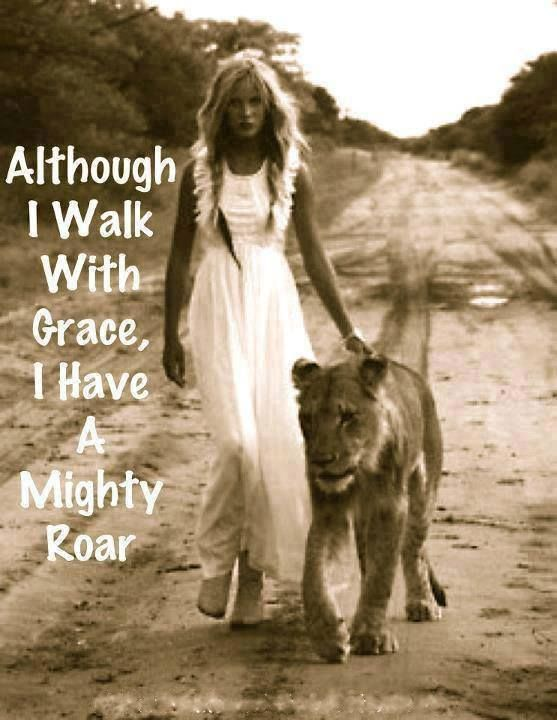 I am a Daughter of The Lion of the Tribe of Judah.