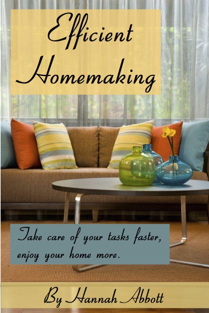 Efficient Homemaking {eBook review + giveaway}