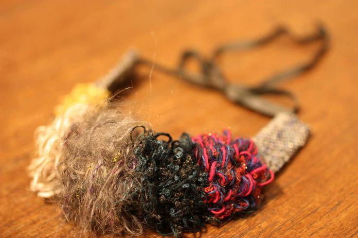 ha-naネックレス  オジマナオコ 作 - 手織工房じょうたのWeb Shop