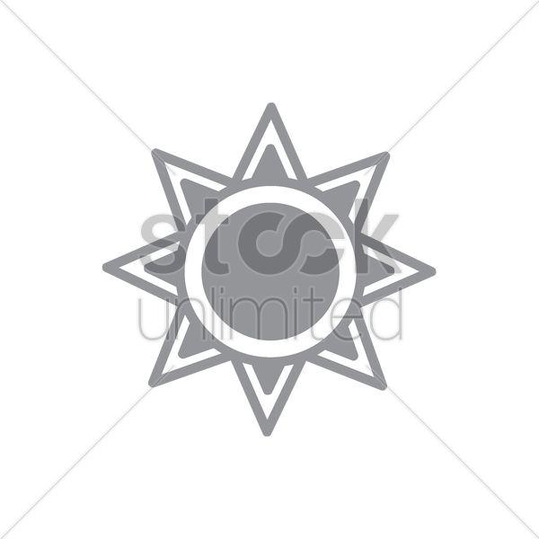 sun Stock Vector