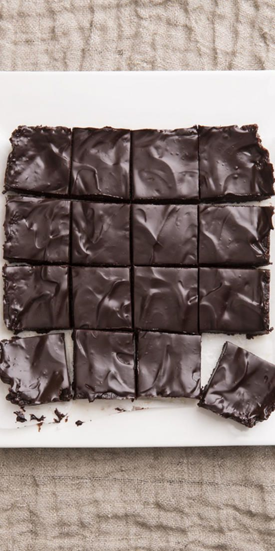 The Ultimate Unbaked Brownies