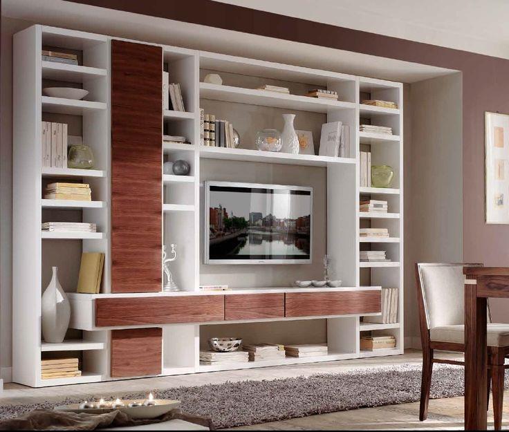 www.cordelsrl.com       #parete soggiorno #mobilisumisura