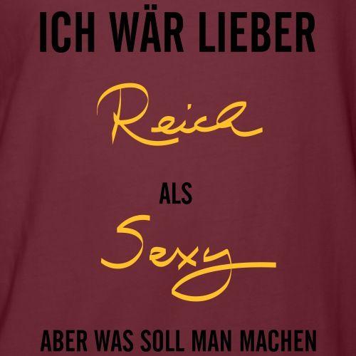 Lustiger T-Shirt Spruch für sexy Männer und Frauen T-Shirts - Männer Poloshirt slim