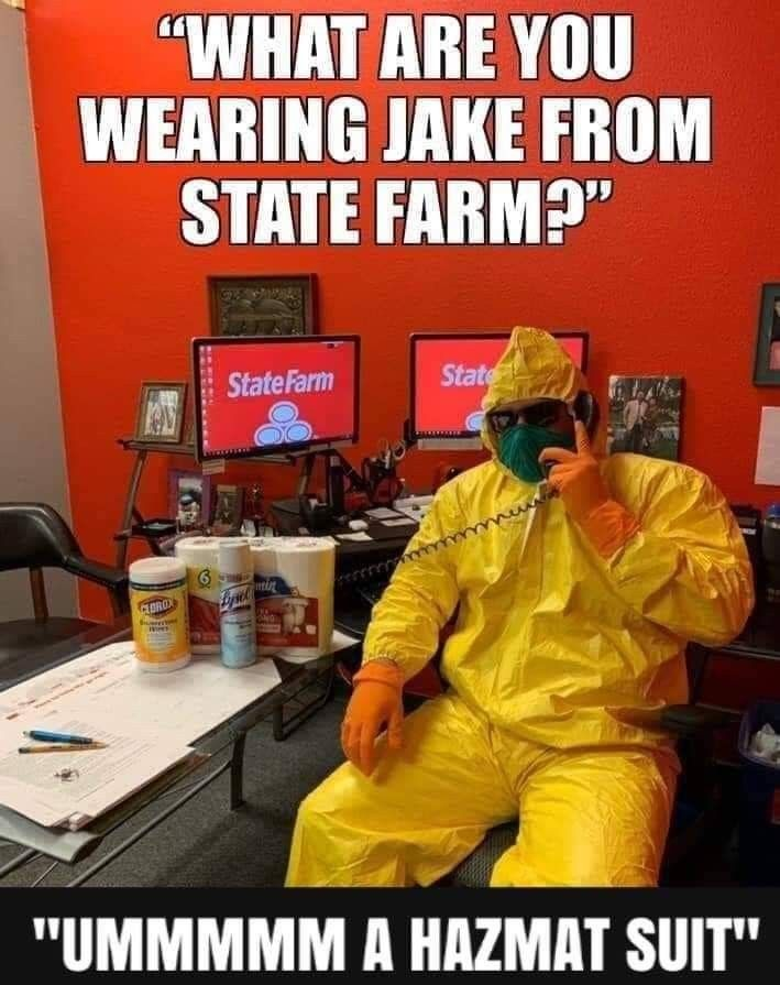 Pin By Charles Gruber On Humor In 2020 Jake From State Farm
