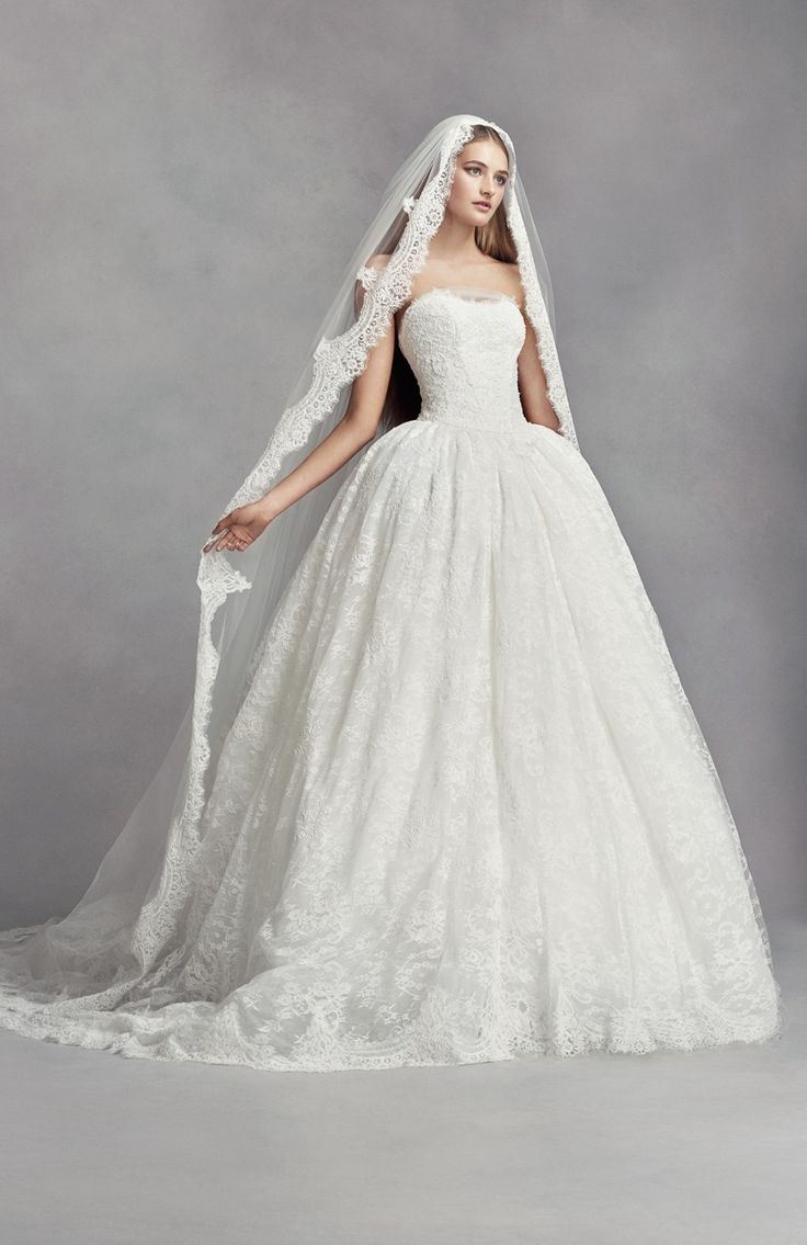 Lovely White by Vera Wang exclusively at David us Bridal Nylon Hang and steam Imported