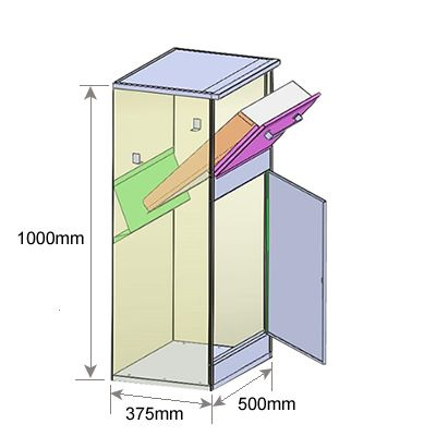 P2 Parcel Drop Box Dimensions                                                                                                                                                                                 More