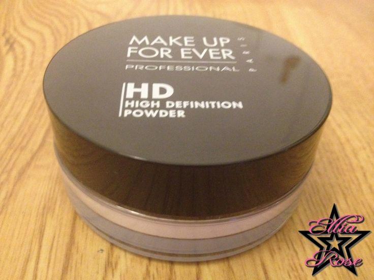✰ Revue : La poudre HD MakeUp Forever ✰ | Ellia Rose