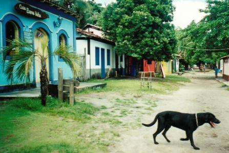 Ruas de #Caraiva - #Bahia