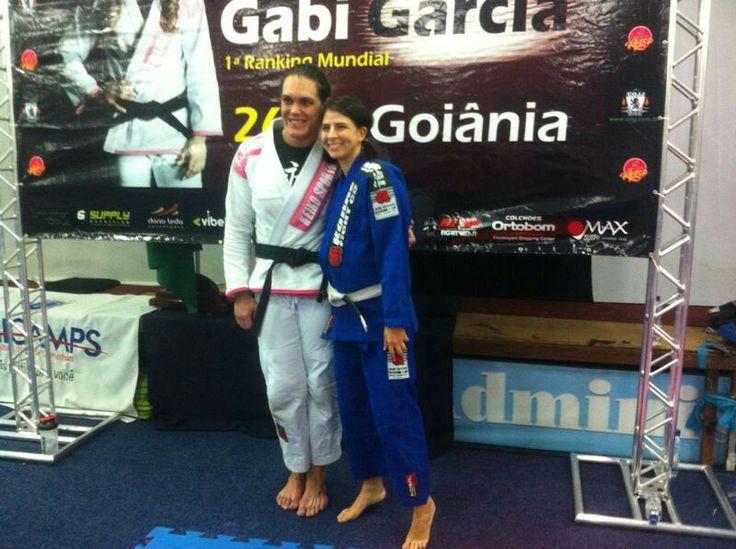 Me and Gabi Garcia the best women fighter! Absolute champion of Abu Dhabi championship of jiu-jitsu 2014.
