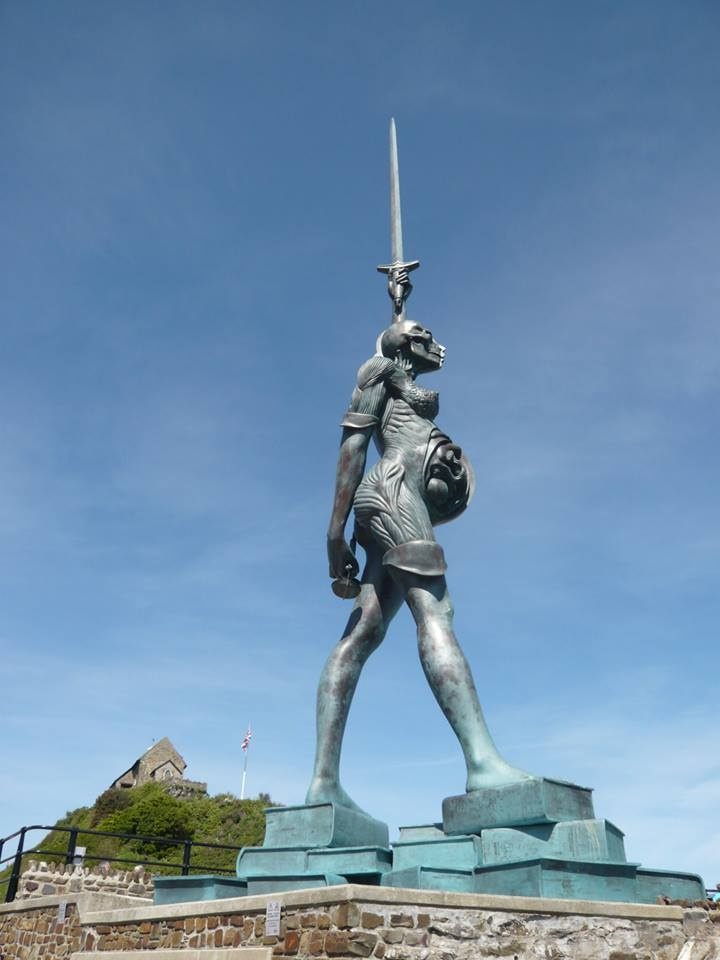Damien Hirst's Verity, Ilfracombe. #damienhirst http://www ...
