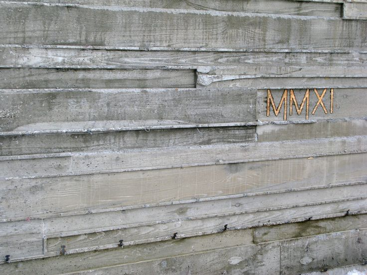 board formed concrete | Meadow House