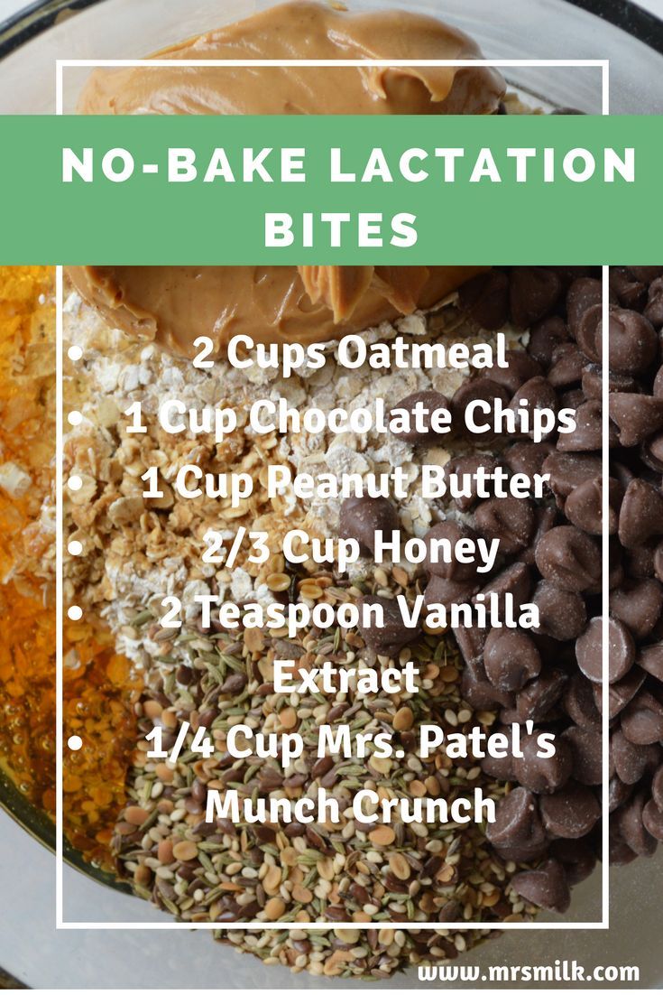 Mrs. Patel's Recipe: No-Bake Lactation Bites