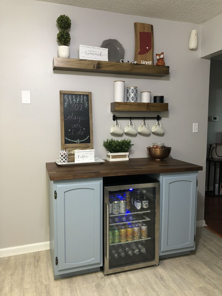 Finzo Beverage Station With Images Coffee Decor Kitchen Home Coffee Stations Coffee Bar Home