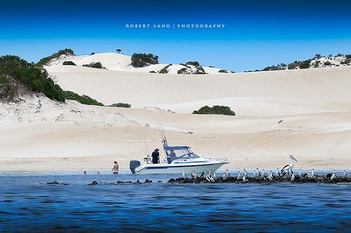 Fishing, swimming, boating at Coffin Bay, South Australia