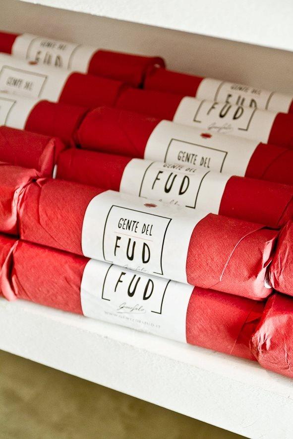 Spaghetti packaging.