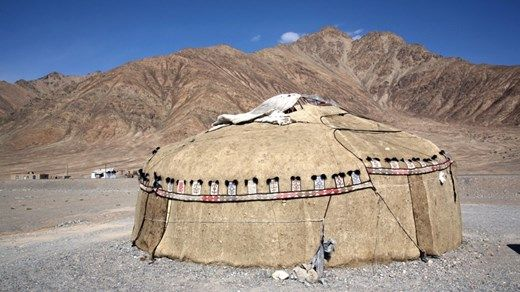 Travel tip: Destinations worth checking out in 2015: 9. Kirgisistan #locals  #Yurt #tent #Asia