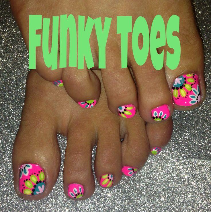 summer nails neon ideas