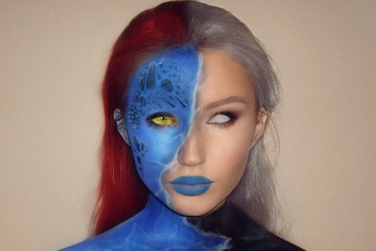 Halloween Makeup Artist Transforms Herself Into Unbelievable Characters - http://www.lifedaily.com/halloween-makeup-artist-transforms-herself-into-unbelievable-characters/