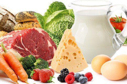 Продукты-лидеры по содержанию витаминов    🎾 Витамин А  Морковь, боярышник, шиповник, цитрусовые фрукты. Среди животных продуктов питания: сыр, сливочное масло, печень, яйца и рыбий жир.    🎾 Витамин Д  Жирные сорта рыбы, печень трески, рыбий жир, яйца, икра рыбы.    🎾 Витамин Е  Печень, яйца, растительные масла. А также в брюссельской капусте, брокколи, шиповнике, облепихе, рябине, черешне, семенах яблок, подсолнечника. В миндале, арахисе, зеленых овощных листьях. Много витамина Е…