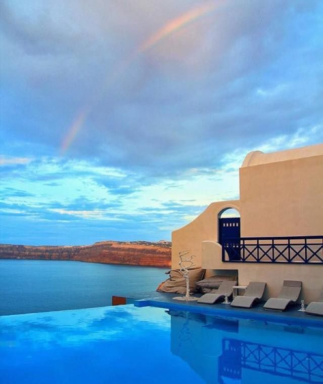 Breathtaking Views & Colors | Astarte Suites #Hotel #Santorini #AstarteSuites