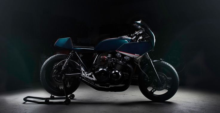 "Honda Bol dOr Cafe Racer ""Jewel Endurance"" by North East Custom #motorcycles #caferacer #motos 